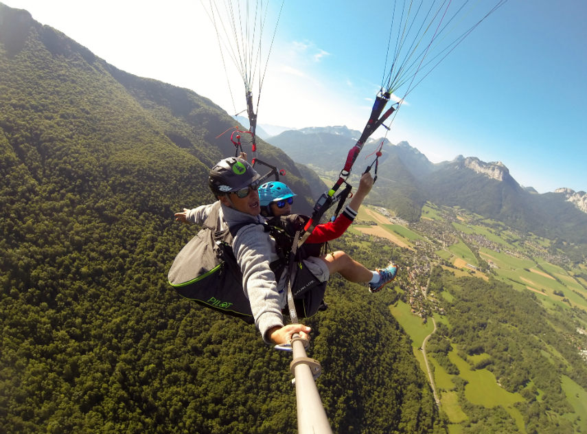 Come and fly, between Annecy and Val d' Isère 12