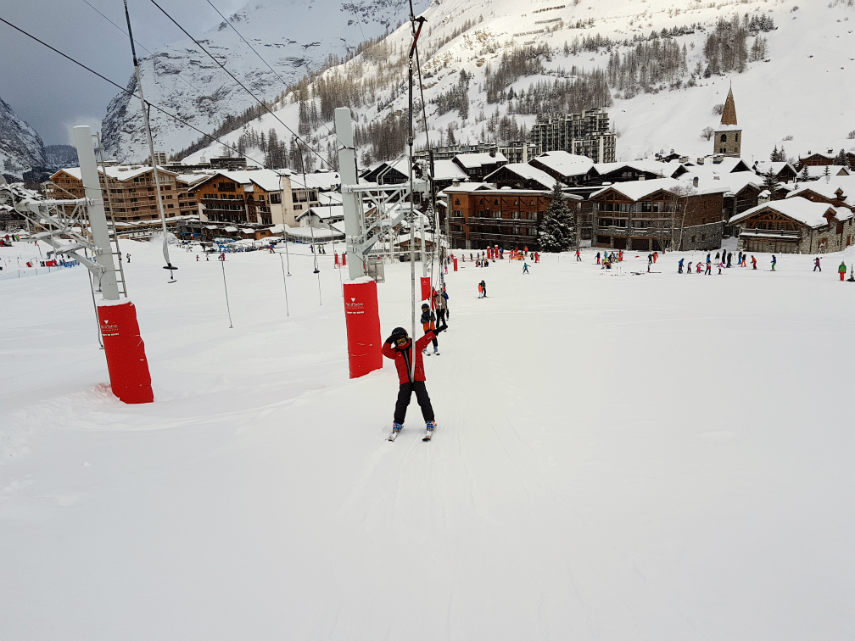 Incredible snow conditions at VAL D'ISERE for the 2018 season 8