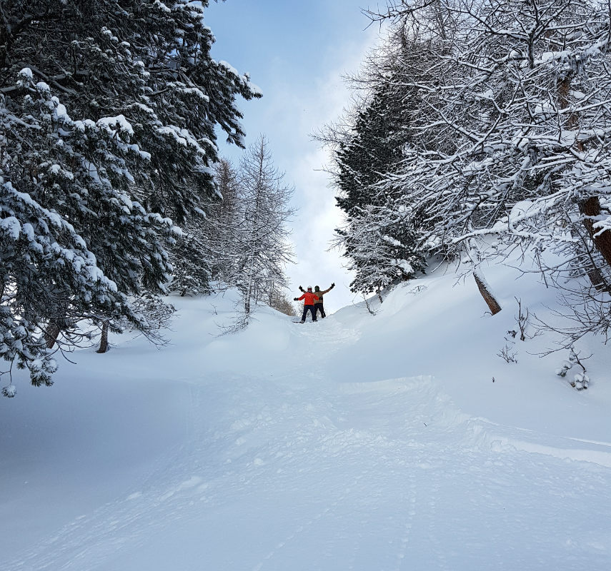 Incredible snow conditions at VAL D'ISERE for the 2018 season 2
