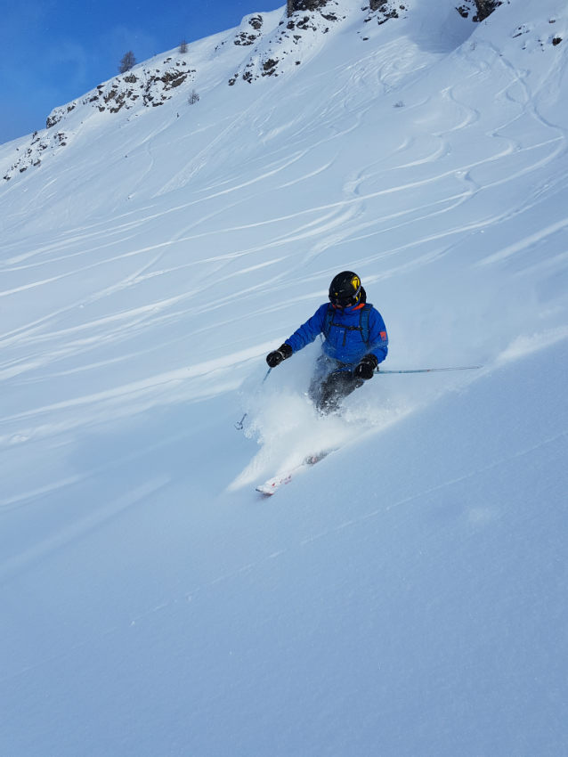 Incredible snow conditions at VAL D'ISERE for the 2018 season 4