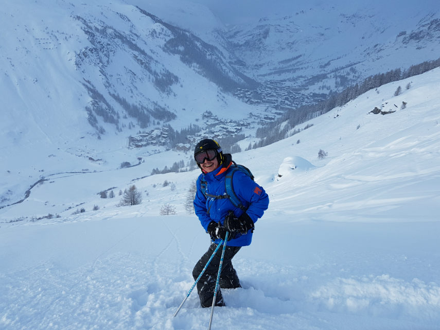 Incredible snow conditions at VAL D'ISERE for the 2018 season 12