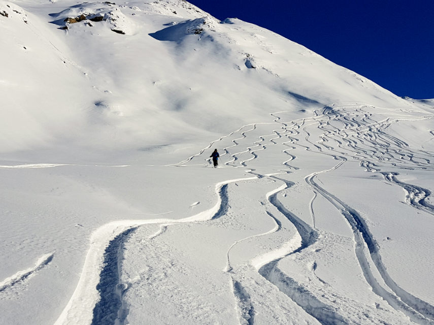 Incredible snow conditions at VAL D'ISERE for the 2018 season 9