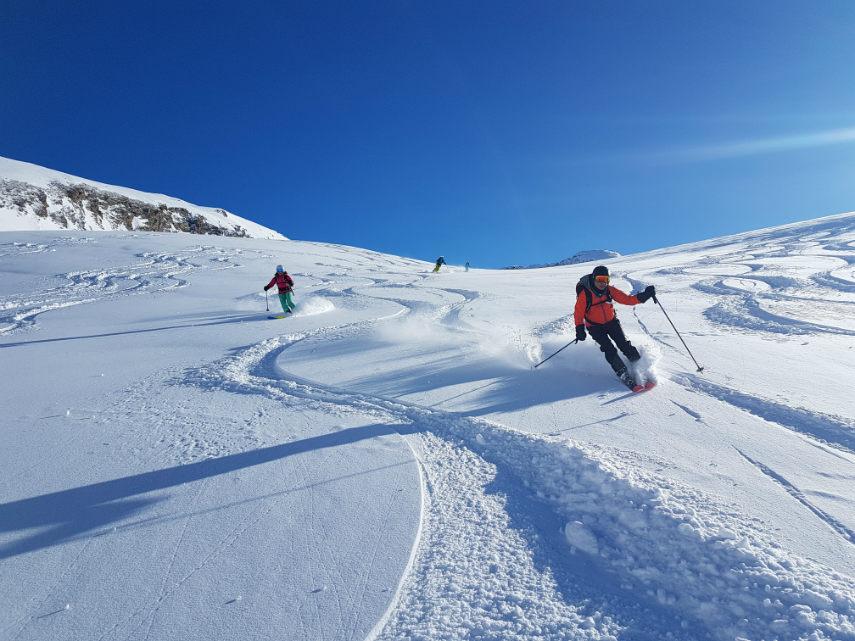 Ski Paragliding 5