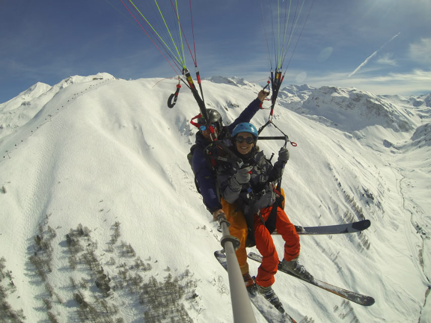 Pow POw, paragliding and Lost Valley 12