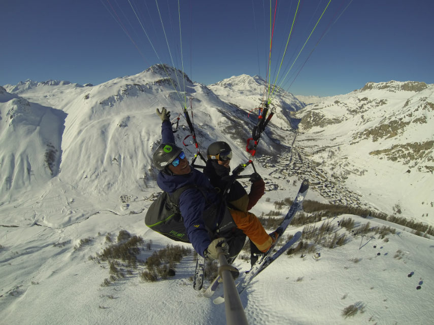 Pow POw, paragliding and Lost Valley 21
