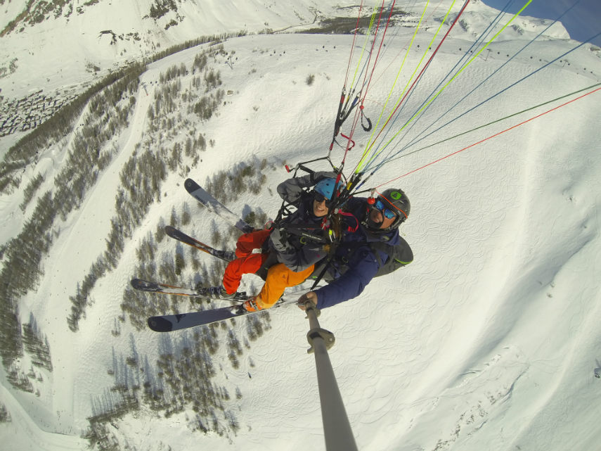 Pow POw, paragliding and Lost Valley 4