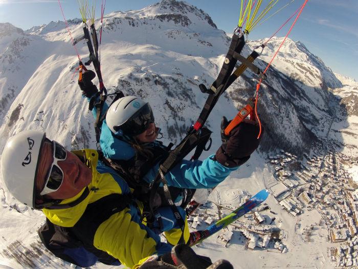Ski Parapente Val d'Isère