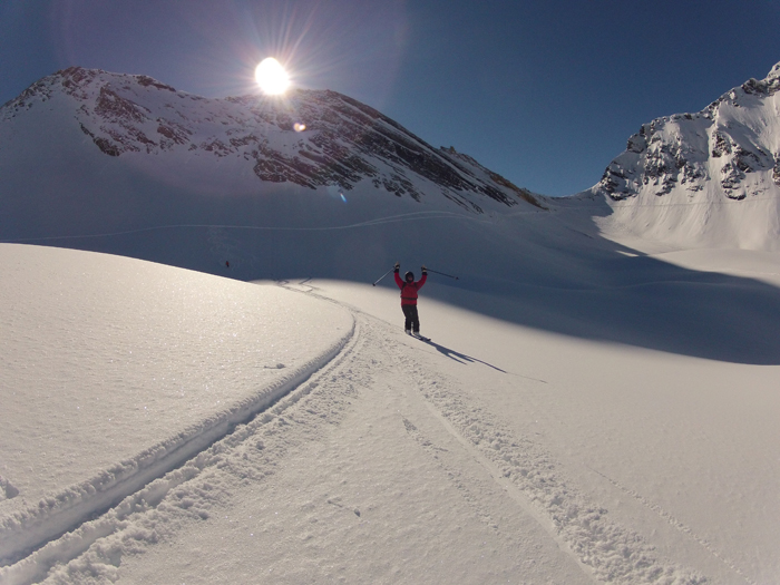 Ski hors piste Val d'Isère